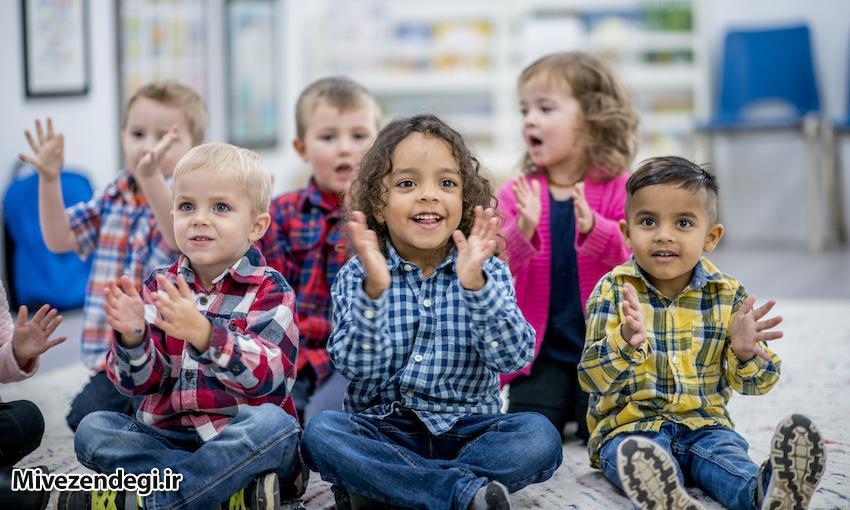 جذب کودک به مهد کودک