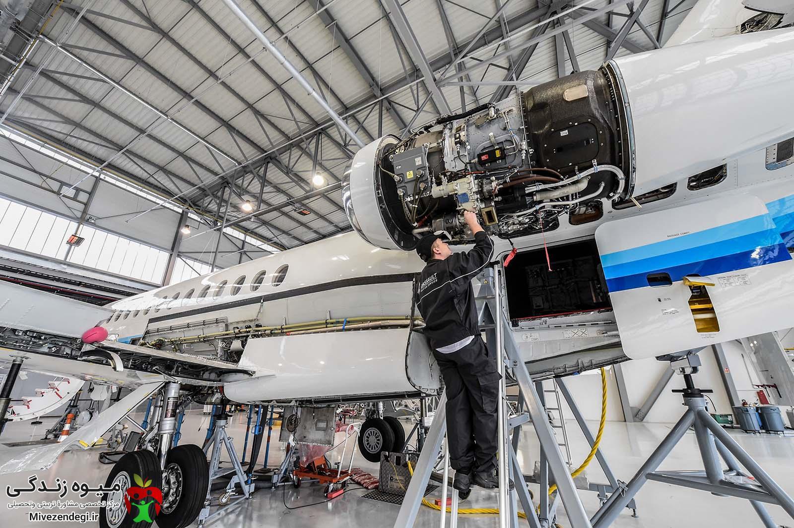 تعمیر و نگهداری هواپیما