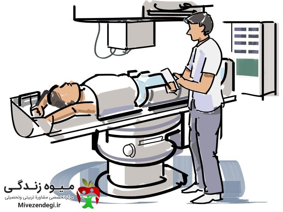 کارشناس پرتودرمانی