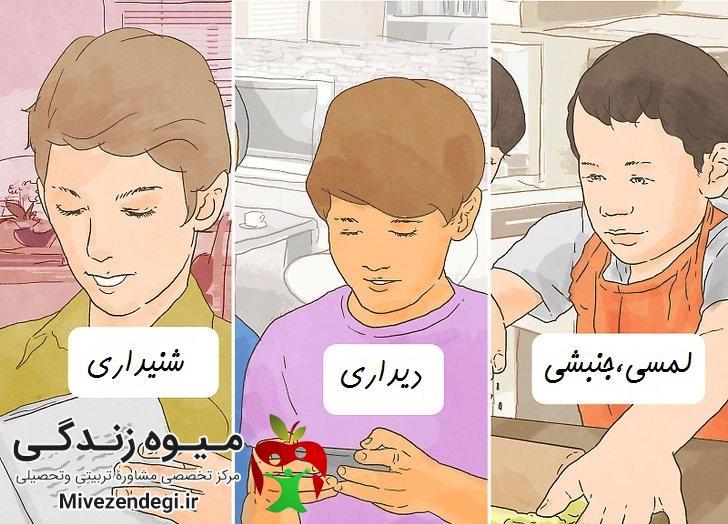 سبک های یادگیری کودکان